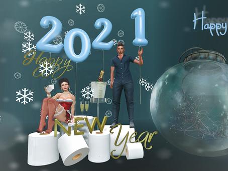Happy New Year 2021.♔#58♔