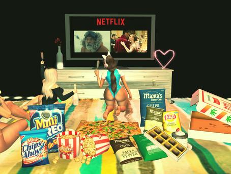 Netflix Night With Friends.♔#255♔