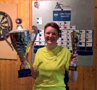 Daniëlle Smit verovert als eerste dame het Open Ladder Kampioenschap 2017