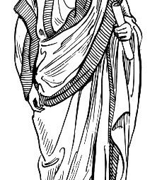 Who wore the Roman toga?