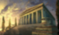 temple of artemis from book cover for TD