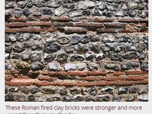 ROMAN FIRED CLAY BRICKS