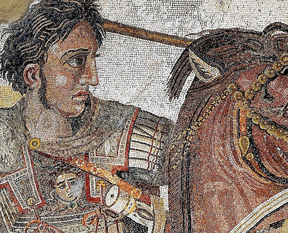 Did Alexander the Great have a splendid nose?