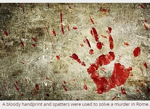 Analyzing Bloodstains in Ancient Rome