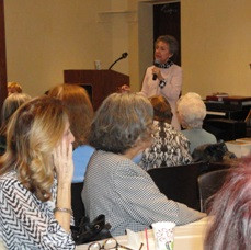 I'm the guest at Book and Author Luncheons