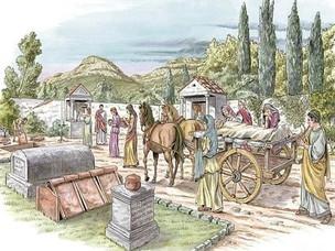 A Roman Funeral Procession