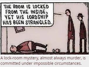 Help Miriam Solve The Locked-Room Murder Mystery