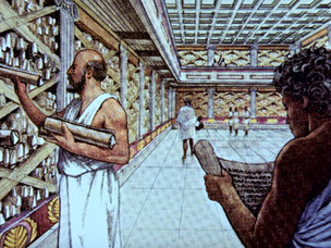 THE GREAT LIBRARY OF ALEXANDRIA: How were so many of its scrolls acquired?