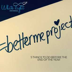 5 things to do before the end of the year #bettermeproject