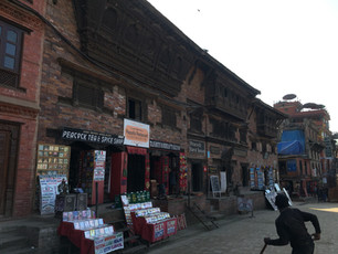Our first day in Nepal