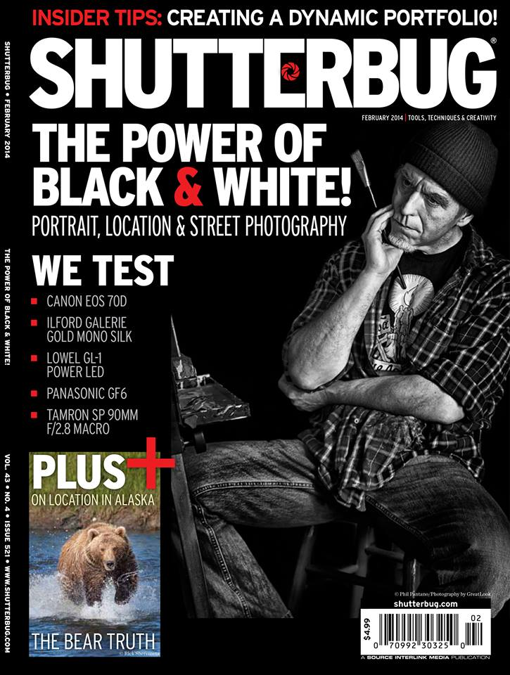 On the cover of Shutterbug