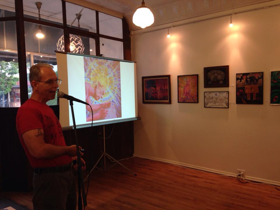 Artist Talk at 464 Gallery