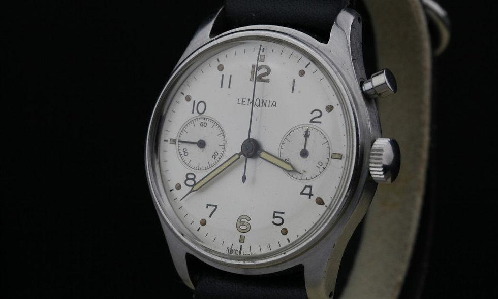Lemania HS9 Military Chronograph