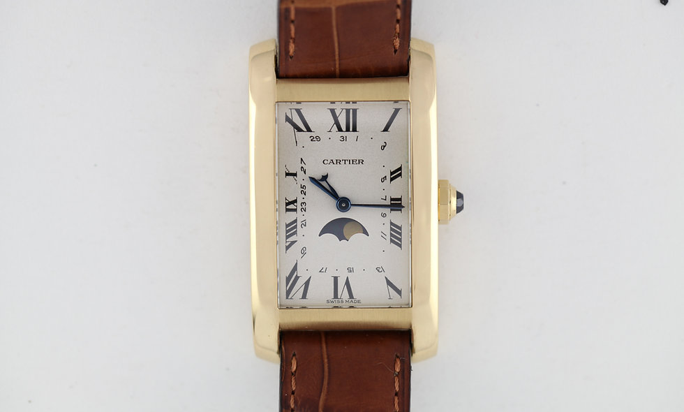 Cartier Tank Americaine Moonphase
