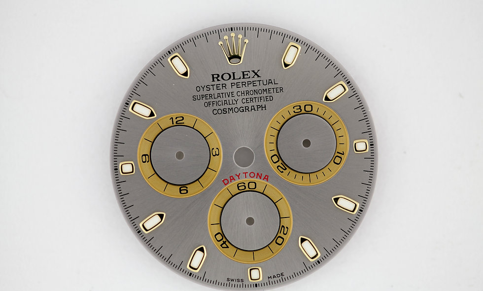 Rolex 116523 Daytona Dial for Two Tone