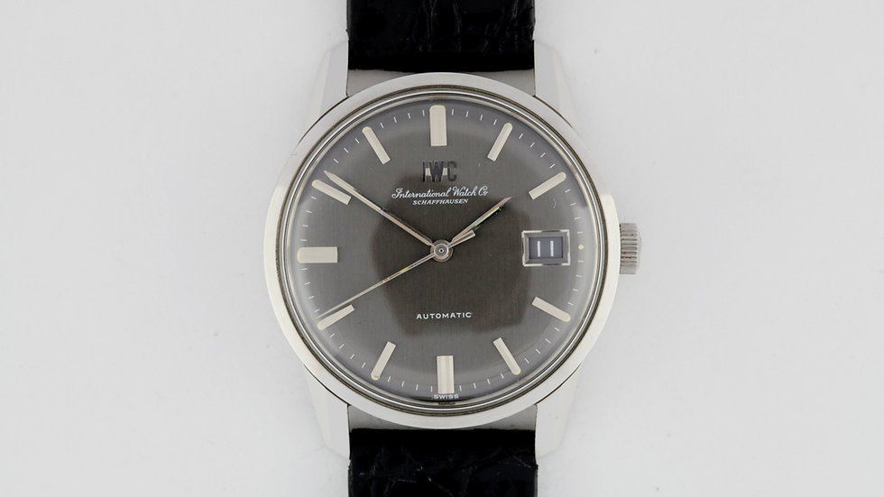 IWC Automatic R810AD Anthracite NOS Box Papers