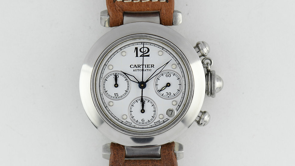 Cartier Pasha Chronograph Automatic 2412 38mm