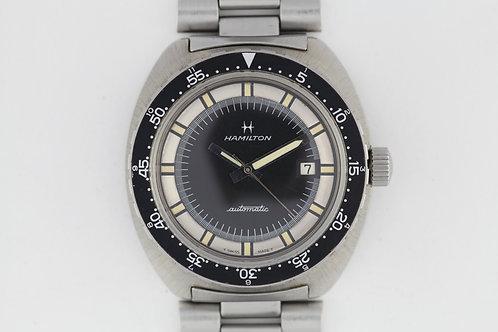 Hamilton Pan Europ 64065-3 Automatic Diver NOS
