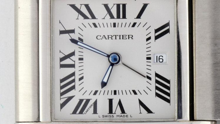 Cartier Dual Time Travel Clock