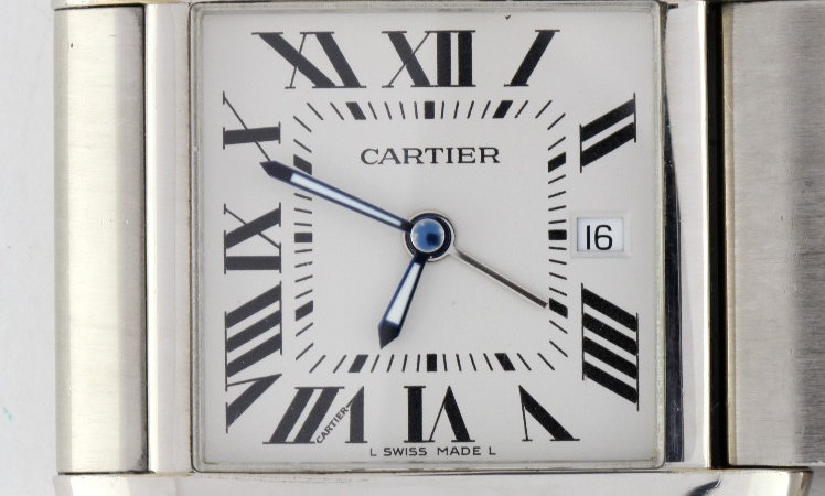 Cartier Dual Time Travel Clock