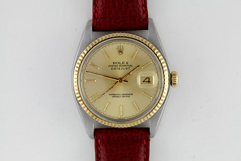 Rolex Datejust Two Tone 16013 Serviced