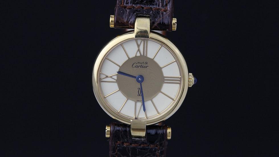 Must De Cartier Vermeil 1980's New Old Stock