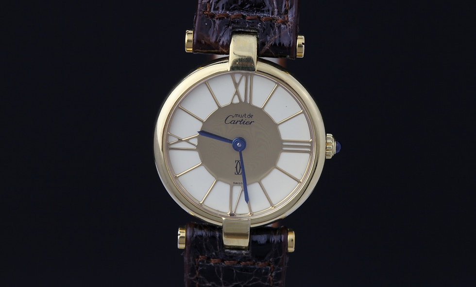 Must De Cartier Vermeil 1980's New Old Stock