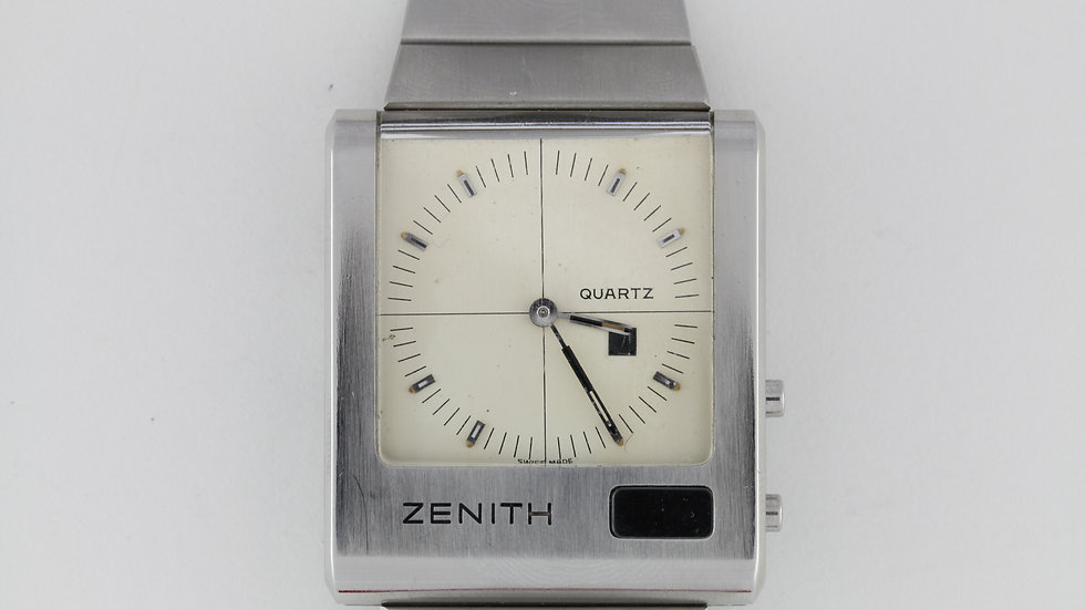 Zenith Futur Time Command Cream Dial with Box