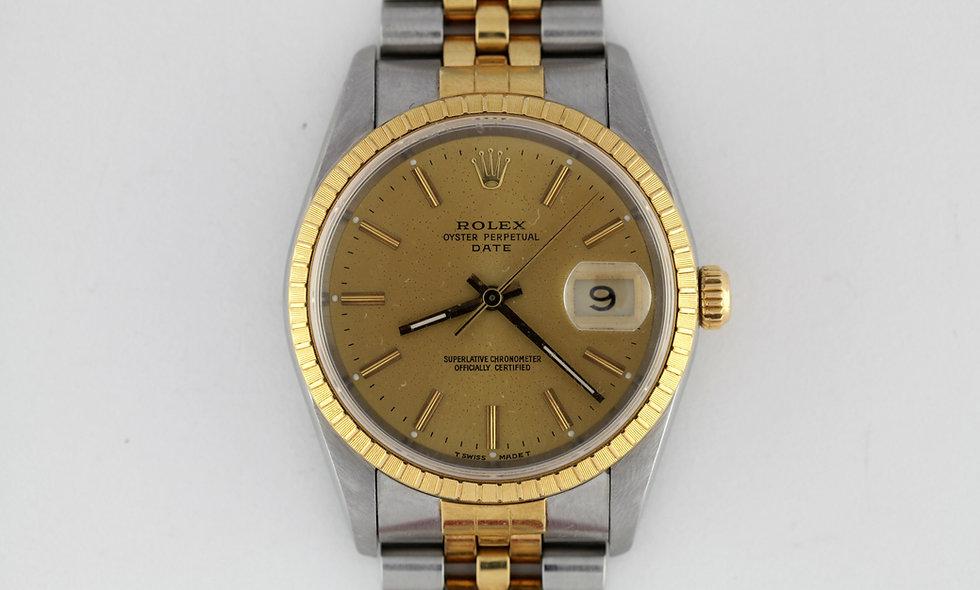 Rolex Oyster Perpetual Date Ref 15223