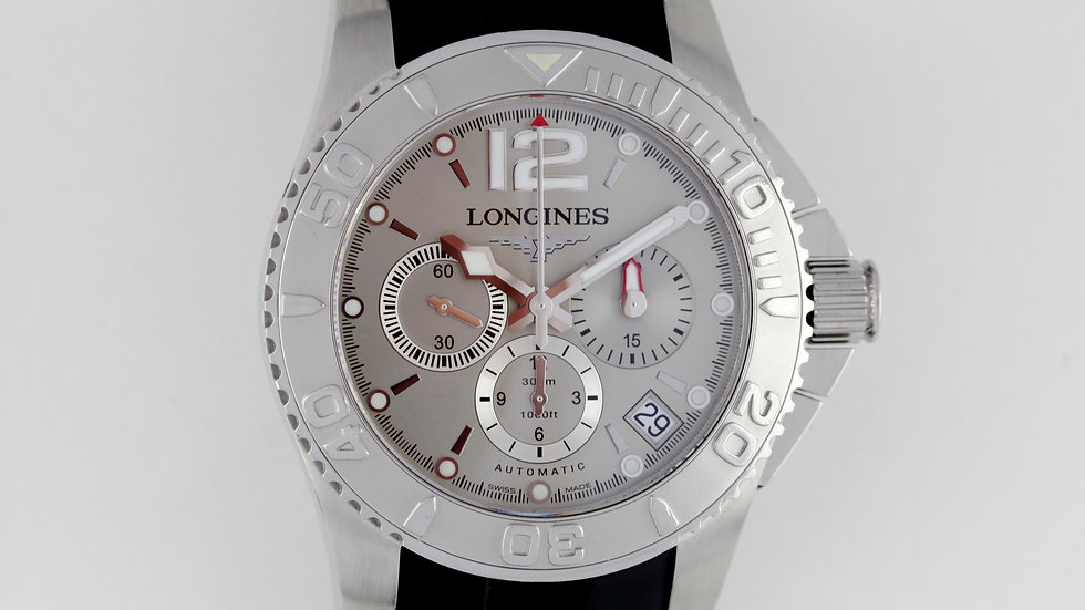 Longines Maxi Hydroconquest L3 665 4 Chronograph Box Papers