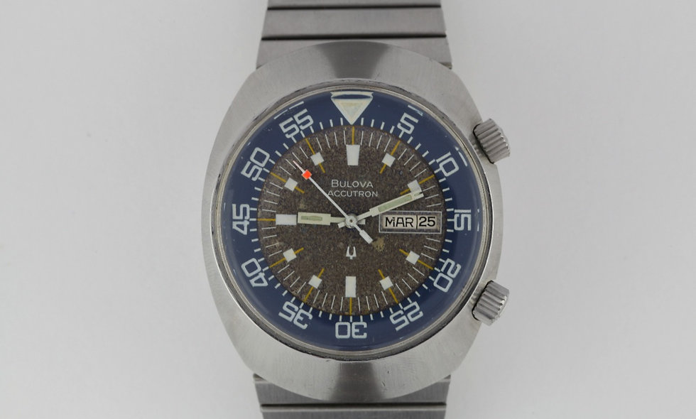 Bulova Accutron Super Compressor 666 Feet Diver Tropical
