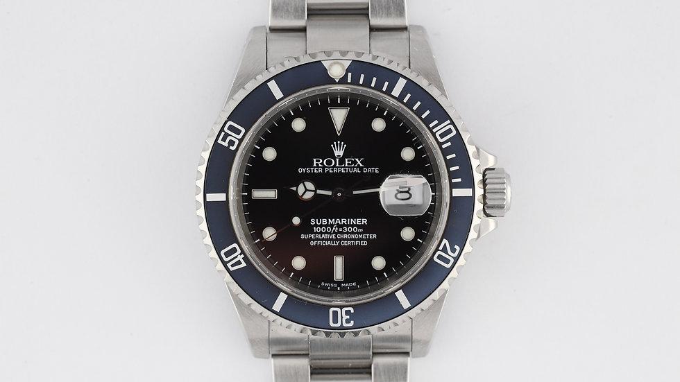 Rolex Submariner 16610 1999 Unpolished
