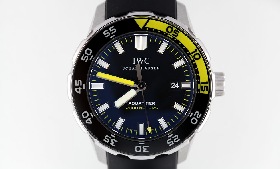 IWC Aquatimer 2000m Ref 3568