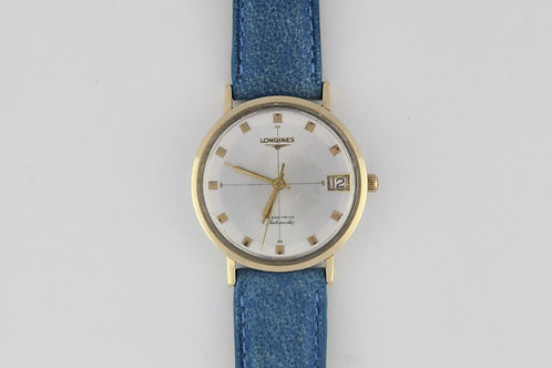 Longines Grand Prize Automatic Gold Bezel and Lugs