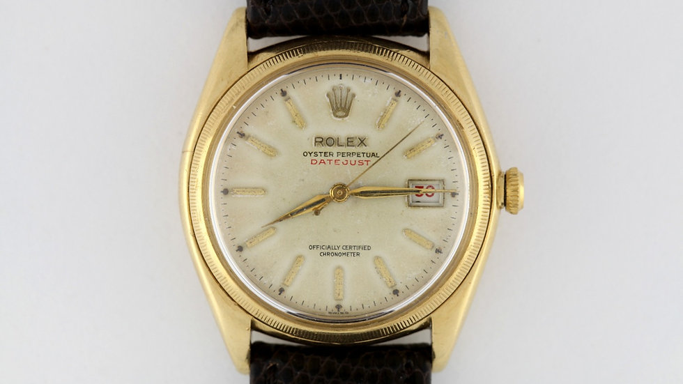 Rolex 4467 Roulette Red Datejust 1947