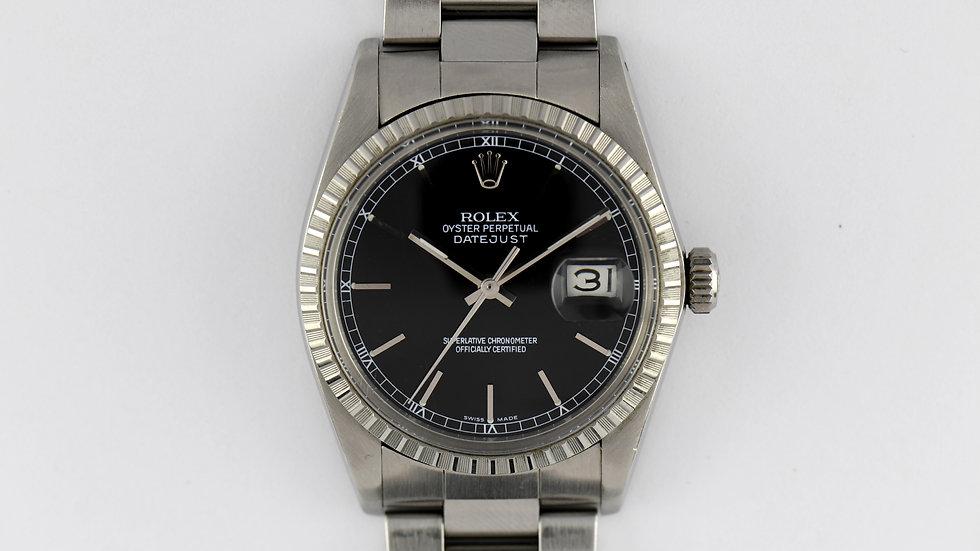 Rolex Datejust 16030 Black Dial