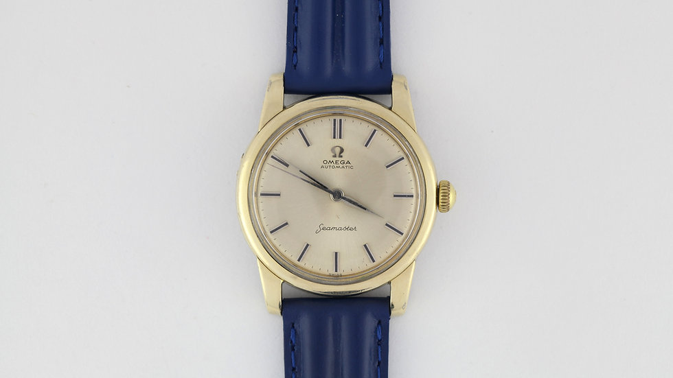 Omega Seamaster Ref 2846 2848 Gold Capped Cal 501