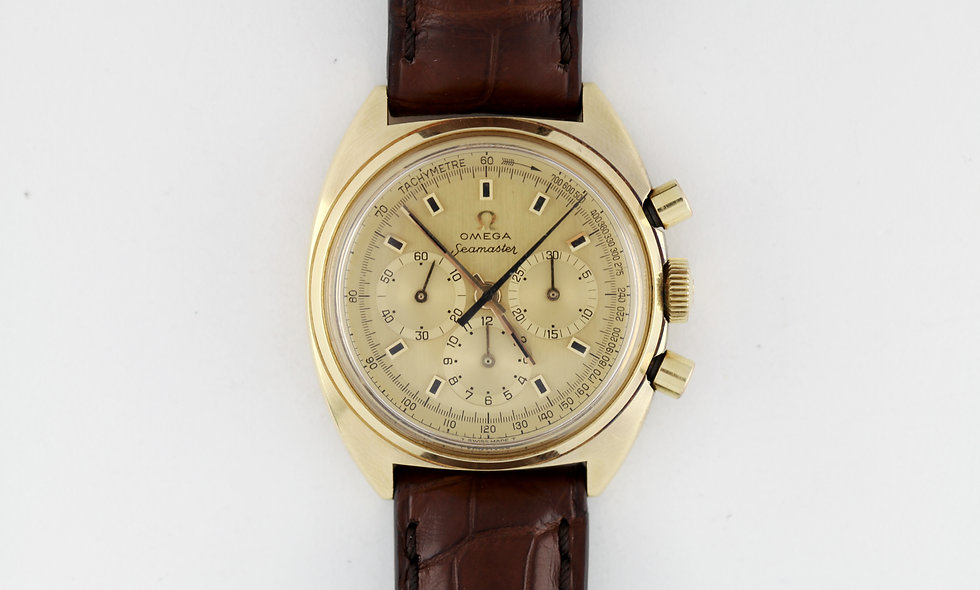 Omega Seamaster 18k Gold 145.006-66 Cal 321