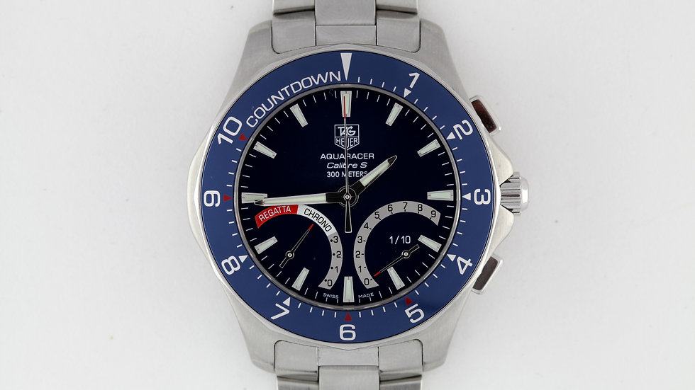 Tag Heuer Aquaracer Regatta Caliber S Box Papers