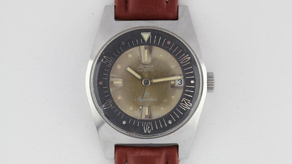 Lorenz Aquastar Diver Watch Serviced