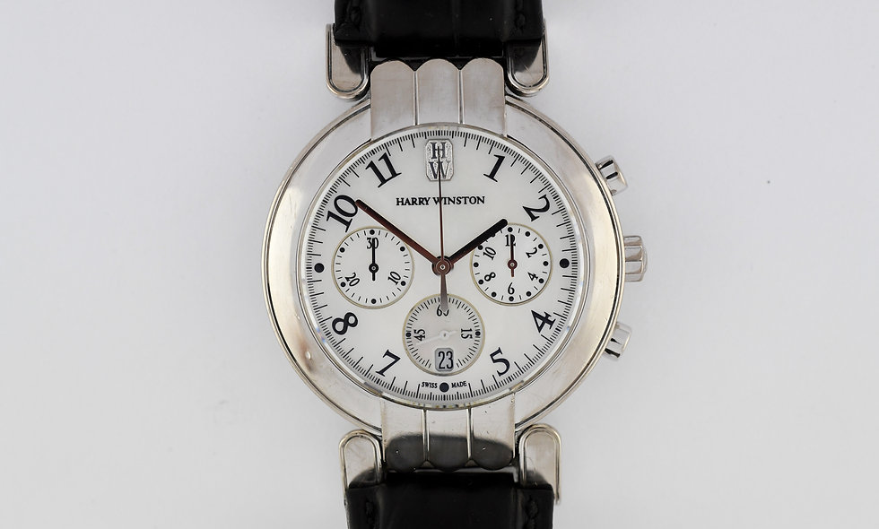 Harry Winston Premier Chronograph White Gold