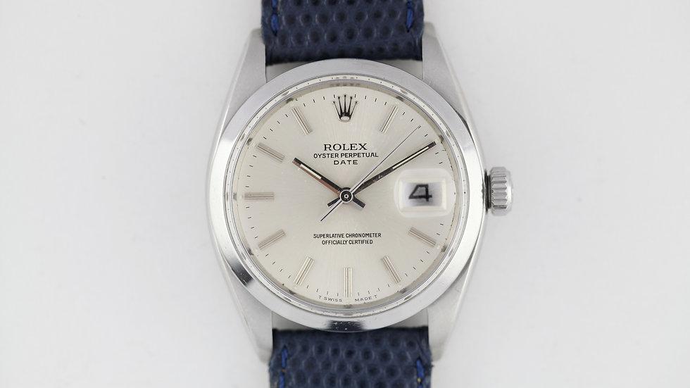 Rolex Date Ref 1500 1961 Butterfly 1560 Serviced
