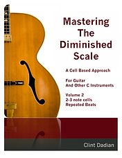 Mastering the Diminished Scale Vol 2 cov