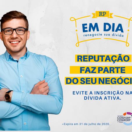 Conrerp1 relança campanha de renegociação de dívidas com 100% de desconto nos juros e multas