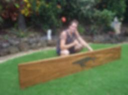 Dave Golston - Custom Koa Wood Bar Top