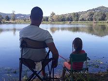 Famille pêche Les Etangs du Bord de Loir