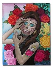 Sugar Skull Glamour $700.00