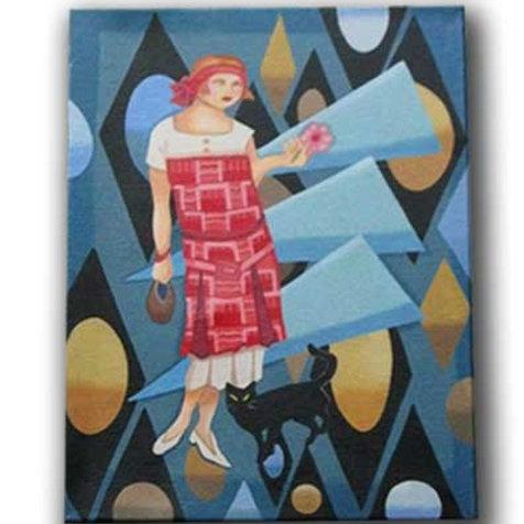 Art Deco Girl