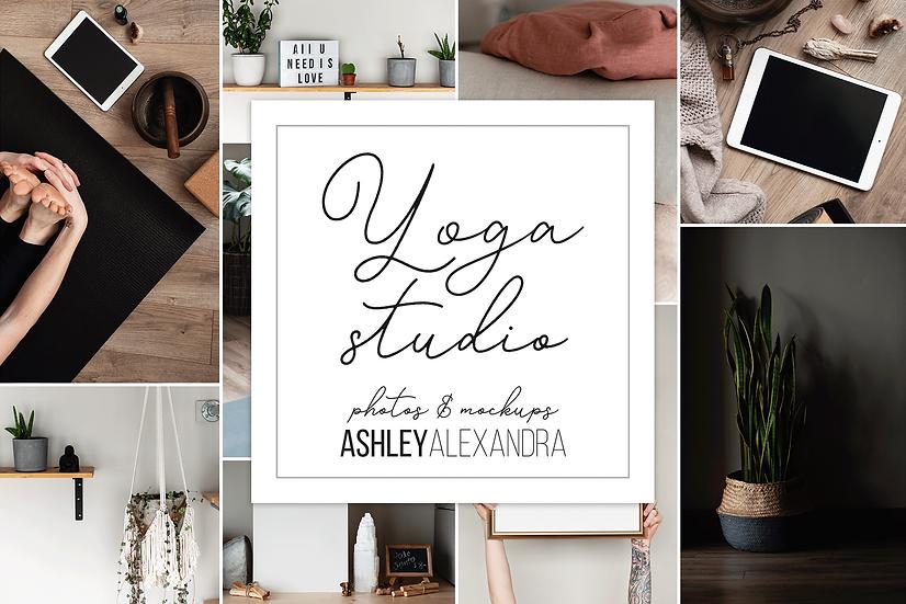 Yoga Studio Mockup Photo Bundle