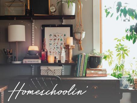 Homeschoolin' + Supporting Wellness